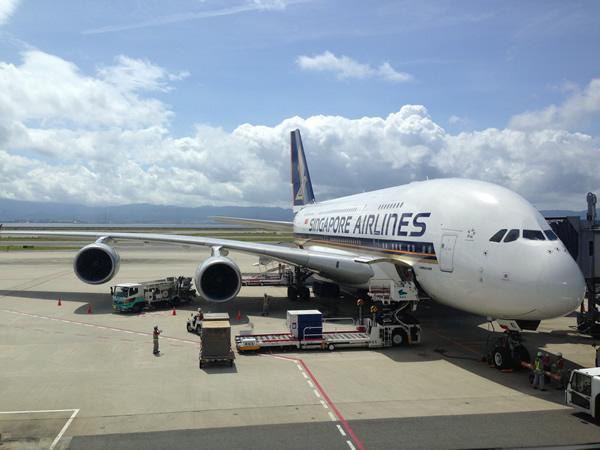 シンガポール航空 A380 画像
